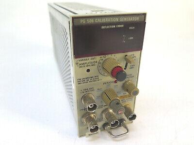 Tektronix Pg 506 Calibration Generator