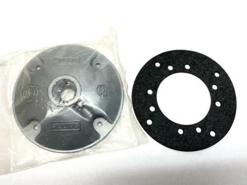 """Killark VJH-1 Aluminum Hub Cover 1/2"""" Thread x 4-1/2"""" Dia 223740"""
