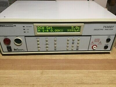 Associated Research Hypot Ultra Ii 7530dt Dielectric Analyzer