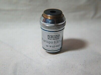 Zeiss Planapo 631.4 Oil Immersion Lens 160- Microscope Objective Sb