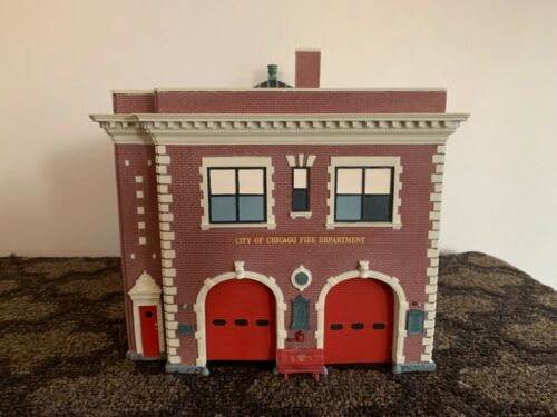 Code 3 BACKDRAFT Chicago, IL Firehouse E-17/L-46