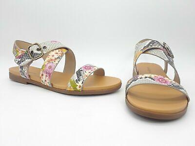 Indigo Rd. Lelani Women Shoes Crisscross Flat Sandals Pink Multi Sz 10 M