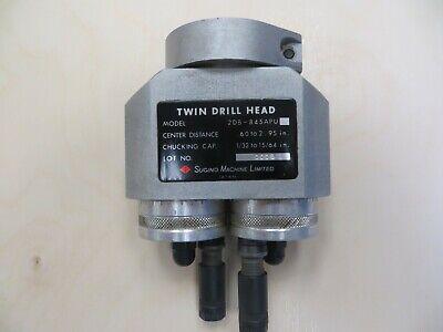 Sugino Twin Drill Head 2db-845apu