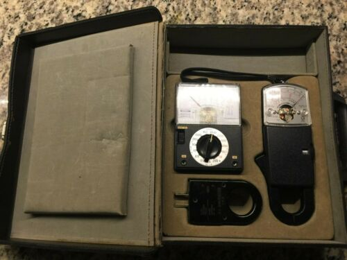 Instruments Testers Kit and Case Master Service VINTAGE AW Sperry Model C-9/10
