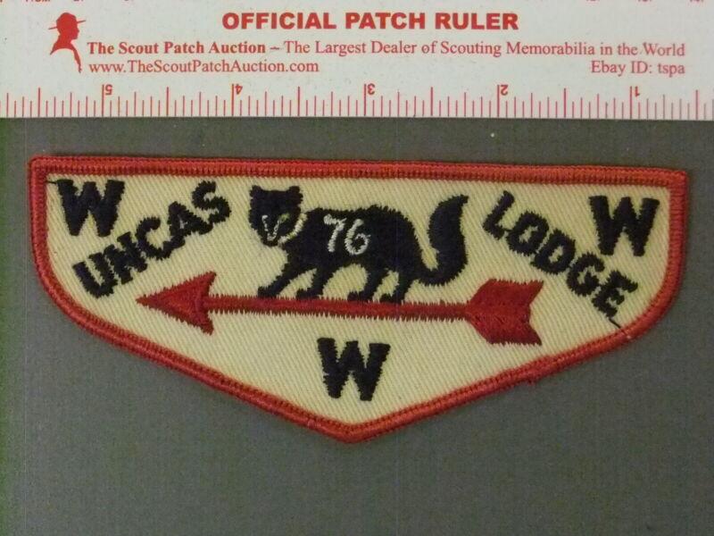 Boy Scout OA 297 Uncas flap 3995JJ
