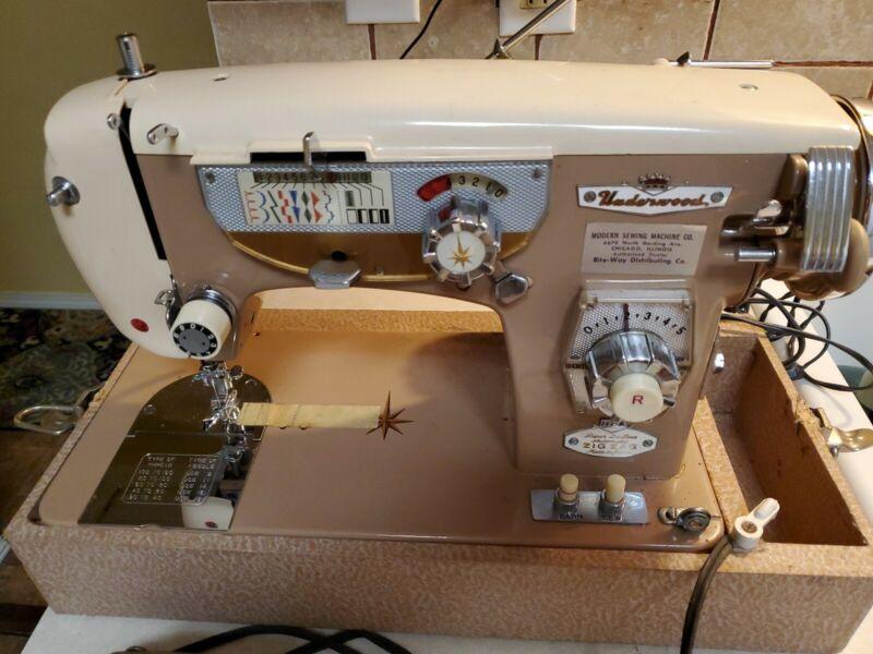 Underwood Sewing Machine