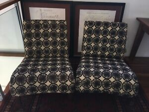 Armchairs x 2 (price is for pair)