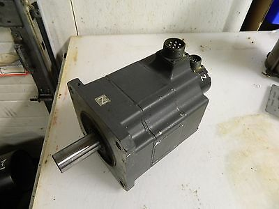 Mitsubishi AC Servo Motor, # HA100CS, w/ Encoder, Used, 90 Day WARRANTY