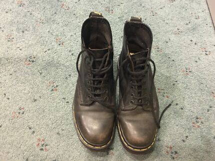 Genuine doc Martens Black size 7 made in England