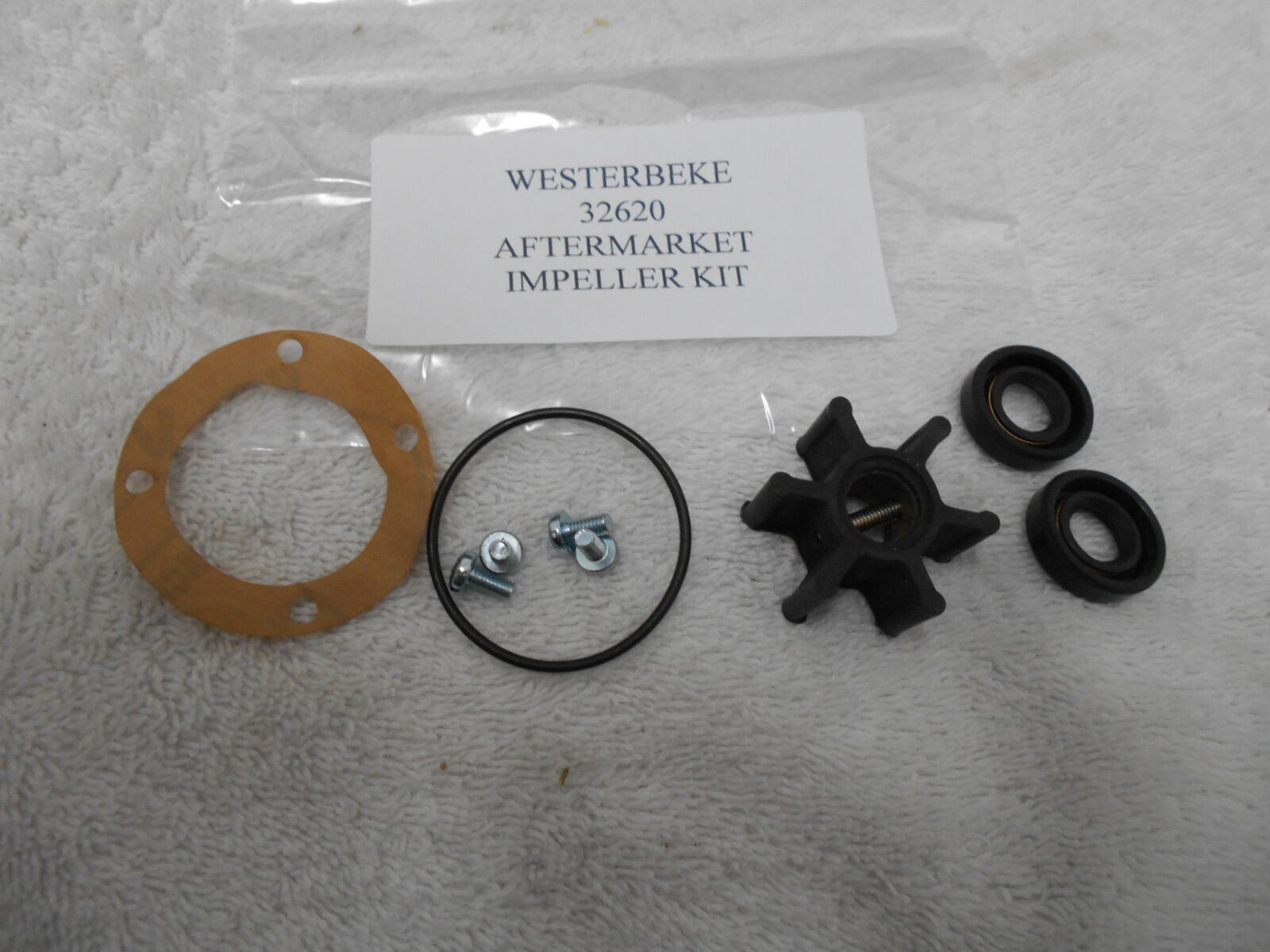 new Westerbeke Generator RAW WATER PUMP  Impeller Kit - 32620