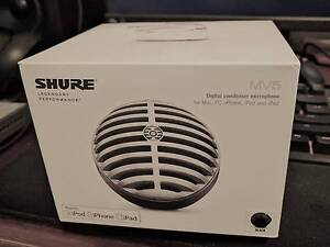 Shure Motiv MV5 Digital Condenser Microphone (Black) Chatswood Willoughby Area Preview