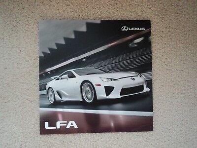 Lexus LFA  - Brochure - 2010