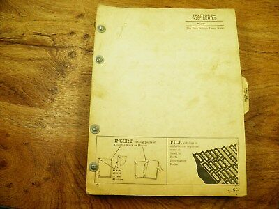 John Deere Jd 420 Series Parts Catalog Pc 505