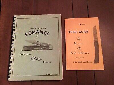 Lot of 2 Pictorial Price Guide Romance of Collecting Case XX Knives USA