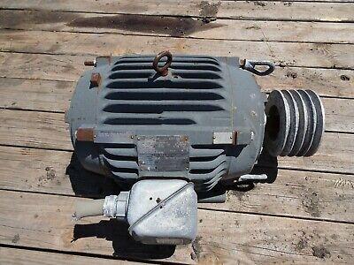 20 Hp Us Motors By85 Electric Motor 256t Frame 230v 460v 3ph 1770rpm Ctni