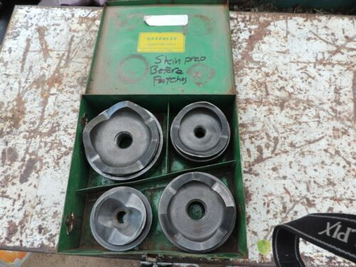 """Greenlee 7304 Conduit Knockout Punch Set 2-1/2"""" to 4"""" Conduit"""