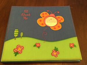 Baby scrapbook for a girl