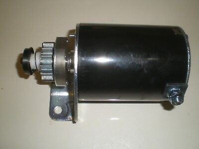 Tractor Electric Starter Motor   Briggs   Stratton Replaces 693551 Metal Gear