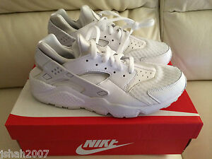 NIKE-AIR-HUARACHE-TRIPLE-WHITE-PURE-PLATINUM-ALL-SIZES-3-13-LIMITED-EDITION-NEW