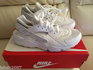 Nike Air Huarache Triple White Ebay