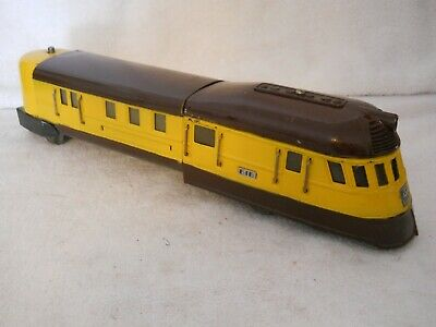 Lionel 616 Prewar Flying Yankee O Scale Locomotive- Restored