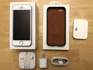 iPhone SE 64gb Rose Gold + extras