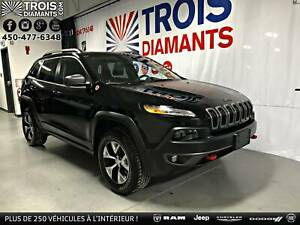 2018 JEEP CHEROKEE TRAILHAWK-4X4-CUIR-CAMÉRA-UCONNECT-