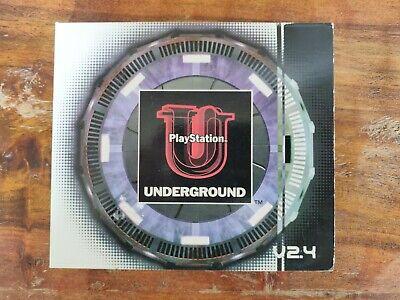 PlayStation Underground V2.4 Demo Sampler 2-Disc Set  *Complete*
