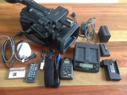 Sony HVR Z7U HDV Professional Video Camcorder