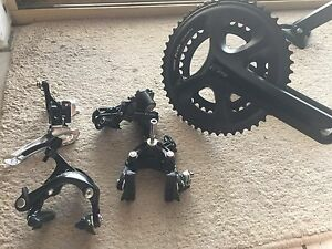 Shimano 105 half group set 11 speed Perth Perth City Area Preview