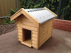 Premium Traditional Wooden Dog Kennel Wynn Vale Tea Tree Gully Area Preview