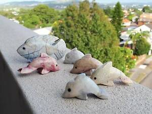 Dolphin figurines