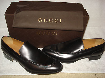 c2ee295ca 100% AUTHENTIC NEW MEN GUCCI NEW BLACK LOAFERS/DRIVERS UK 10/US 11