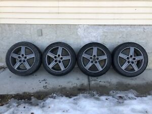Audi rims and tires for sale