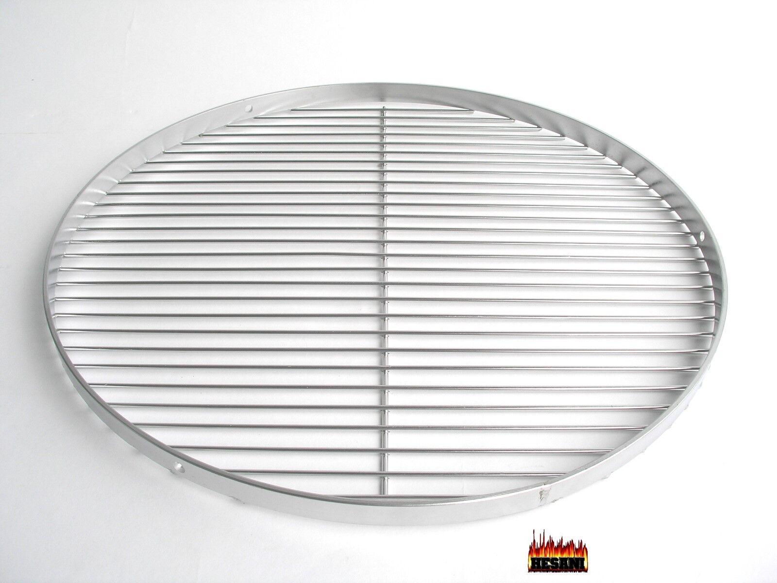 Grillrost bester Edelstahl Lebensmittelecht poliert rund Grill 50 + 60 cm