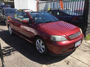 2002 Holden Astra Convertible auto rego RWC $5499 Coburg Moreland Area Preview