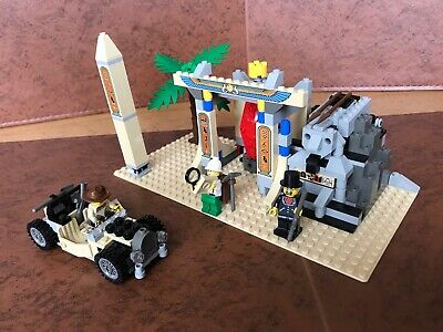 LEGO Adventurers 5958 Mummy's Tomb used but complete with BOX