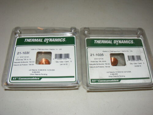 8 - Thermal Dynamics 21-1035 Shield Cap 70A SS/AL