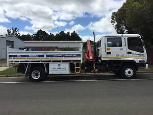 Isuzu 12 tonne tipper truck with crane Napoleons Golden Plains Preview