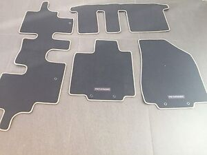 Fitted 2015 Pathfinder floor mats