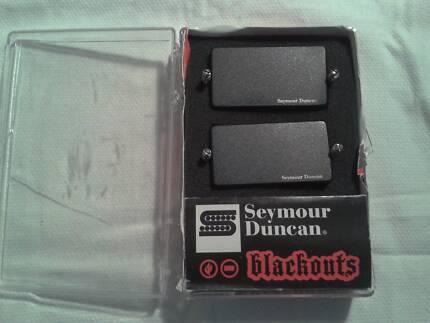 SEYMOUR DUNCAN AHB-1 BLACKOUTS HUMBUCKER SET BOXED