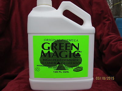 GREEN MAGIC_ WORLDS BEST CLEANER__ DECK CLEANER __FULL GALLON . FREE