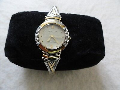 Anne Klein Diamond Quartz Water Resistant Ladies Watch