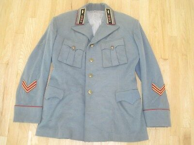 Soviet Russian WW2 Original Armor Troops Sr. Lieutenant  Jacket