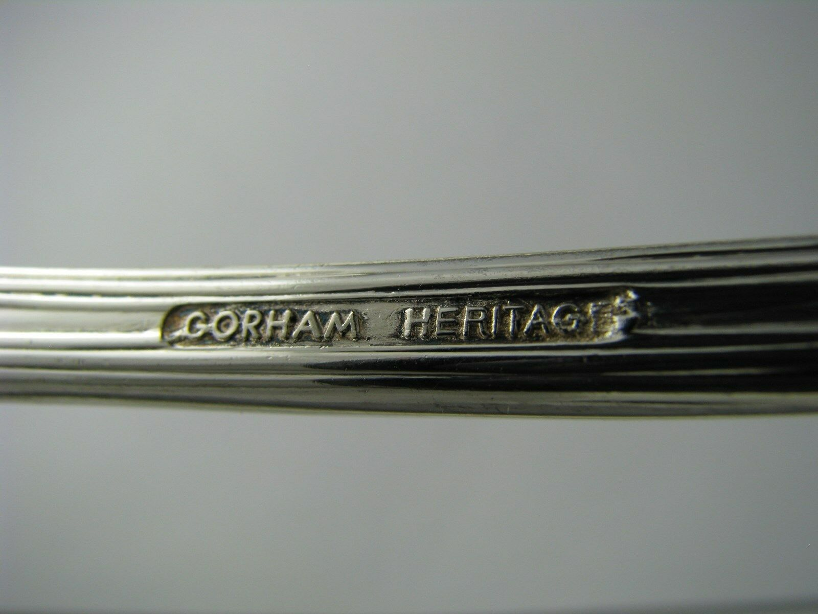 SILVER PLATED SPOON PASTA SERVING SPOON Gorham Heritage Italy Silverplate Ca1980 - $75.00