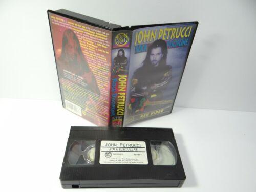 John Petrucci Rock Discipline VHS Video Tape Dream Theater Guitar Lesson Playing