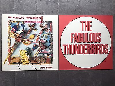 The Fabulous Thunderbirds Tuff Enuff RARE Original promo 12 x 12 poster flat '86