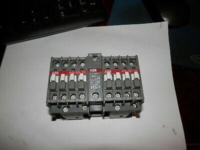 ABB A9-30-10 A9N00-30- CONTACTOR NEMA SIZE 00 9 AMPS CONTINUOUS CURRENT 110-120V