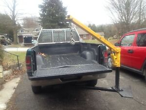 Pickup Truck Crane, Fits in Trailer Hitch