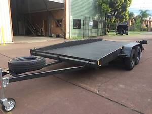 CAR TRAILER RAMP HEAVY DUTY 12 MONTHS PRIV REGO $3000 ON ROAD The Hills District Preview